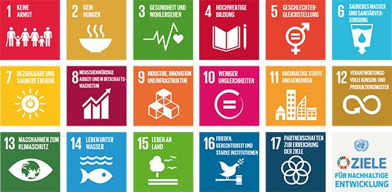 Die Agenda 2030 mit ihren Zielen