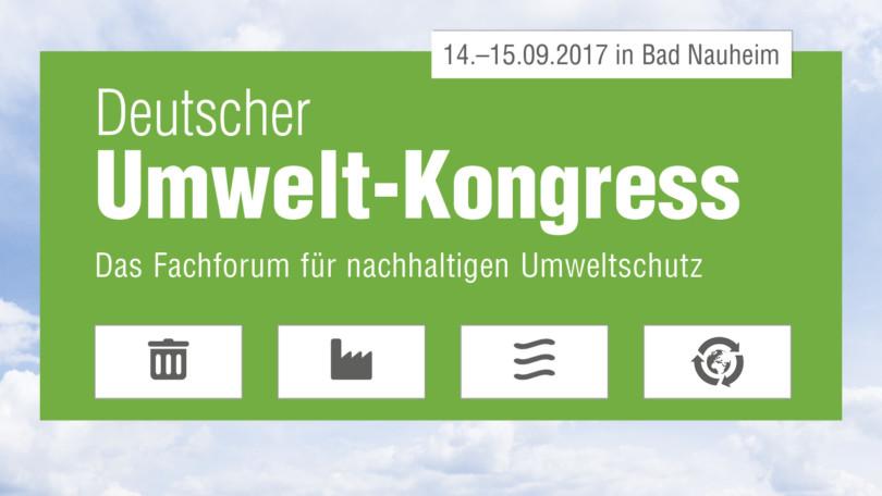 Deutscher Umweltkongress 2017 in Bad Nauheim