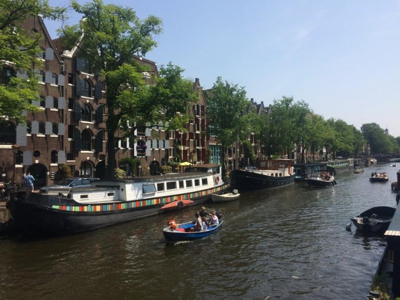 Nach Amsterdam für eine nachhaltige Dienstreise.