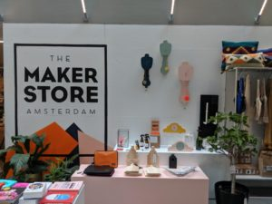 Während einer nachhaltige Geschäftsreise kann auch der Maker Store Amsterdam besucht werden